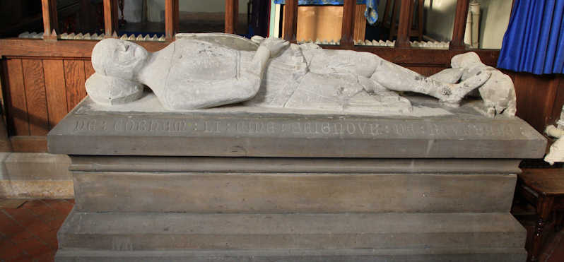 Shorne church de Cobham tomb small