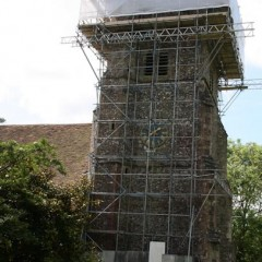 Scaffolding tower 23 May 2014